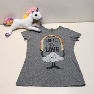 Love is Love ❤ Wear it with Pride Rainbow Shirt